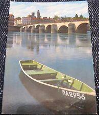 France Macon La Saone et le pont de St Laurent - posted