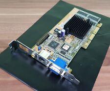 ASUS AGP GeForce2 MX200 V7100(T) Comp Out + S-Video Out + VGA Grafikkarte TOP!