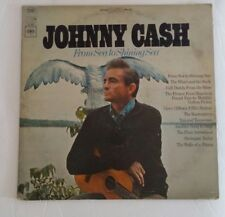 Columbia Records Johnny Cash From Sea to Shining Sea Vinyl Record LP