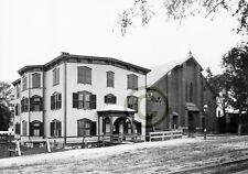 """Boston, MA Catholic churches """"ST. GREGORY'S CHURCH DORCHESTER AVENUE"""" © 1892 Rep"""