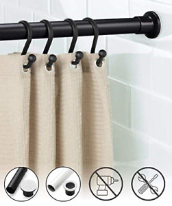 Oxdigi Room Divider Tension Curtain Rod Extra Long / 102.4-122.1 inches Large No