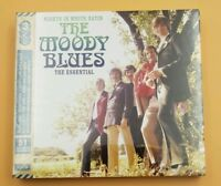 THE MOODY BLUES 'NIGHTS IN WHITE SATIN : THE ESSENTIAL' (Best Of) 3 CD SET (2017