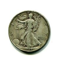 1945-S Walking Liberty Silver Half Dollar