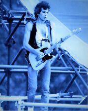 THE ROLLING STONES PHOTO KEITH RICHARDS 1982 ELITE UNIQUE IMAGE UNRELEASED 12INS