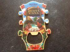 Punta Cana Hard Rock Bottle Opener Magnet.  Headstock. Hotel.