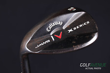 Callaway X-Series Jaws Dark Vintage Lob Wedge 58° LH Graphite Golf #3282
