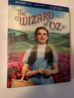 The Wizard of Oz Blu-ray/DVD, 2 Disc,Box Set, 3D Lenticular cover + Digital  OOP
