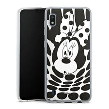Samsung Galaxy A10 Silikon Hülle Case Handyhülle  - Minnie Dots