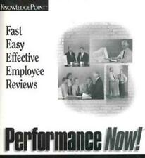 Performance Now 3 + Manual PC CD help track, manage employee reviews HR tools!
