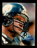 Mike Webster PSA DNA Coa Hand Signed 8x10 Autograph Photo