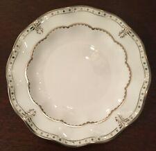 Royal Crown Derby - Elizabeth Platinum Bread Plate - New Old Stock