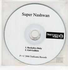 (GU507) Super Nashwan, Rockabye Baby / Girl Galileio - 2006 DJ CD