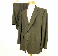"Windowpane Suit Hart Schaffner Marx 51"" Chest 46"" Waist"