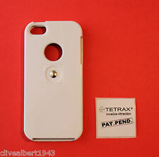 TETRAX X CASE in White for iPhone 5/5S/SE for use with XWAY/SMART/FIXWAY/GEO NEW