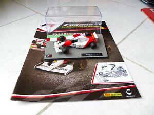 Mclaren Ford MP4/8 Ayrton Senna #8 1993 1/43 Ixo F1 Formule 1 + fascicule