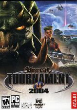 Unreal Tournament 2004 PC Games Windows 10 8 7 XP Computer multiplayer shooter
