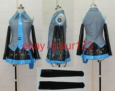 Good Vocaloid Hatsune Miku Cosplay Costume Custom made any size Hallowmas
