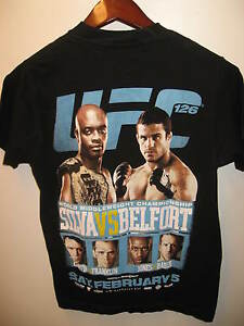 UFC 126 Anderson Silva Vitor Belfort Ultimate Fighting Championship T Shirt Sm