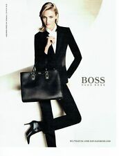 Publicité Advertising 067  2013  Hugo Boss  sac haute couture