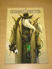 OLYMPUS HEIGHTS GRAPHIC NOVEL IDW TPB MUNROE 9781932382556