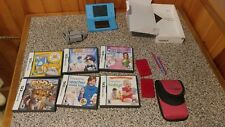 Nitendo DSi Blue With Charger, 6 Games, Stylus, & Carrying Case