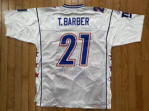 Reebok Jersey 2005 Pro Bowl Tiki Barber NY Giants Large New