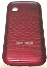 Samsung Ripp R680 Cell Phone Battery Door Back Rear Housing Cover Red OEM