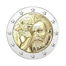 """France 2 Euro commemorative coin 2017 """"Rodin"""" - UNC **NEW**"""