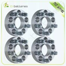 """4Pcs 1.25"""" 5x4.5 1/2"""" Studs Wheel Spacers For 2013 2012 1967-2014 Ford Mustang"""