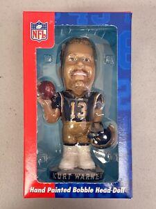Kurt Warner Arizona Cardinals Collectible Series Hand Painted Bobble Head Doll