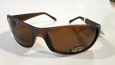 Authentic FOSSIL Men BROWN Bikers Sports Sunglasses # 81611