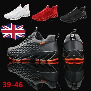 Mens Trainer Casual Walking Sneakers Sports Athletic Running Tennis Shoes Gym UK