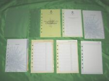 Classic 1 Year Undated Refill Floral Tab Page Lot Franklin Covey 365 Planner