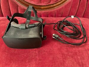 USED Oculus Rift CV1 (2016) Headset, Touch Controllers,1 Working Sensor, Covers