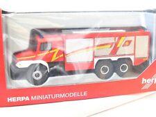 Herpa LKW MB Zetros 4x4 Pritschen-LKW THW Hofheim 091213