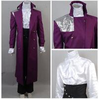 Prince Rogers Nelson Purple Rain Halloween Cosplay Costume Uniform Jacket
