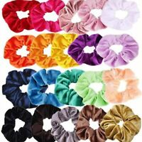 Velvet Hair Tie Rope Scrunchie Rubber Ponytail Holder Band Accessories Wholesale