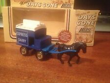 Lledo Models of Days Gone Promotional Horse Drawn Express Dairy Wagon