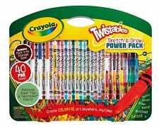 Crayola Twistables Sketch and Draw Power Pack Pencils & Crayons - 40 piece set