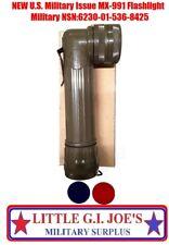New OD Green Fulton Military Issue Angle Head Flashlight MX-991/USA NEW IN BOX