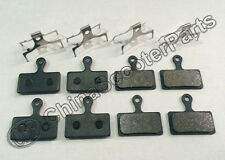 4 Set DISC BRAKE PADS FOR SHIMANO XTR M985 M988 XT M785 SLX M666 M675 M615 S700