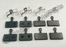 4 Set DISC BRAKE PADS FOR SHIMANO XTR M985 M988 XT M785 SLX M666 M675 M615 S700