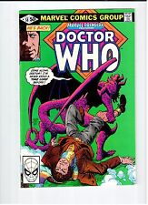 Marvel PREMIERE Featuring Doctor Who #58 1981 NM Vintage Comic