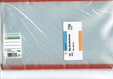 10 x 180mm, 18 cm hoheTransparente  Buchschoner Buchumschläge Buchumschlag