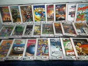 VINTAGE NEW & SEALED PC CD-ROM's - GRABIT - GHOST HUNTER, RACING, GOLF, CHESS...