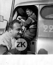 JEAN GABIN Routier HENRI VERNEUIL Camion Tournage Photo 1956