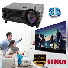 3000 Lumens Full HD 1080P LED LCD 3D VGA HDMI TV Home Theater Projector Cinema