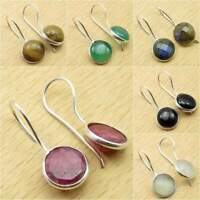 *Great Variety* 925 Silver Plated SIMULATED RUBY & Other Stone FASHION Earrings