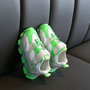 Boys Girls Casual Sport Sneakers Shoes Baby Toddler Infant Outdoor Train Shoes