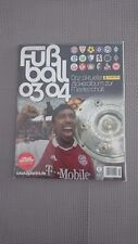 Panini  Bundesliga Fussball 2003/04 Stickeralbum leer